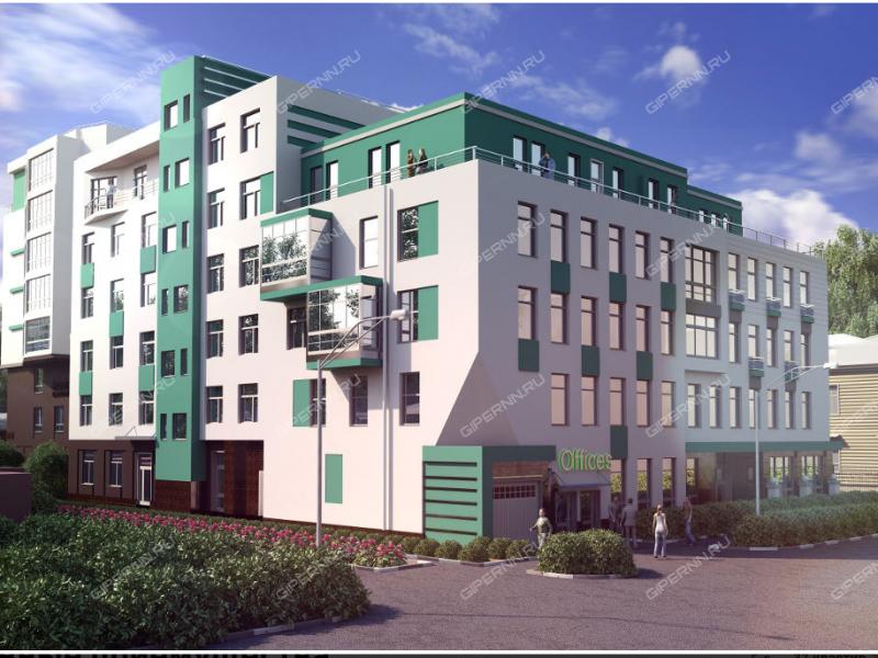 трёхкомнатная квартира в новостройке на улице Провиантская