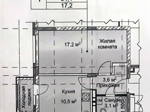 1-komnatnaya-v-granicah-ulic-imeni-marshala-rokossovskogo-generala-ivlieva-kazanskoe-shosse-dom-n29 фото