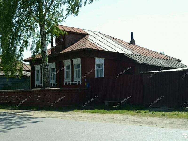 дом на улице Октябрьская рабочий посёлок Тумботино