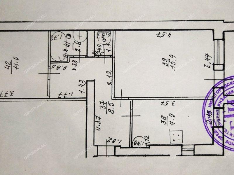 двухкомнатная квартира на Новой улице дом 1 село Бриляково