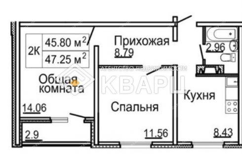 2-komnatnaya-ul-burnakovskaya-d-79 фото