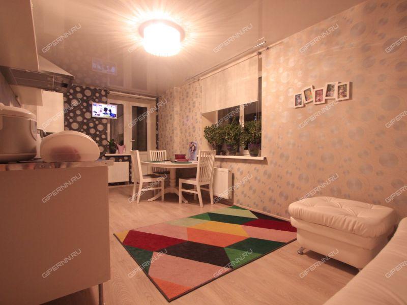 двухкомнатная квартира на улице Сергея Акимова дом 25а