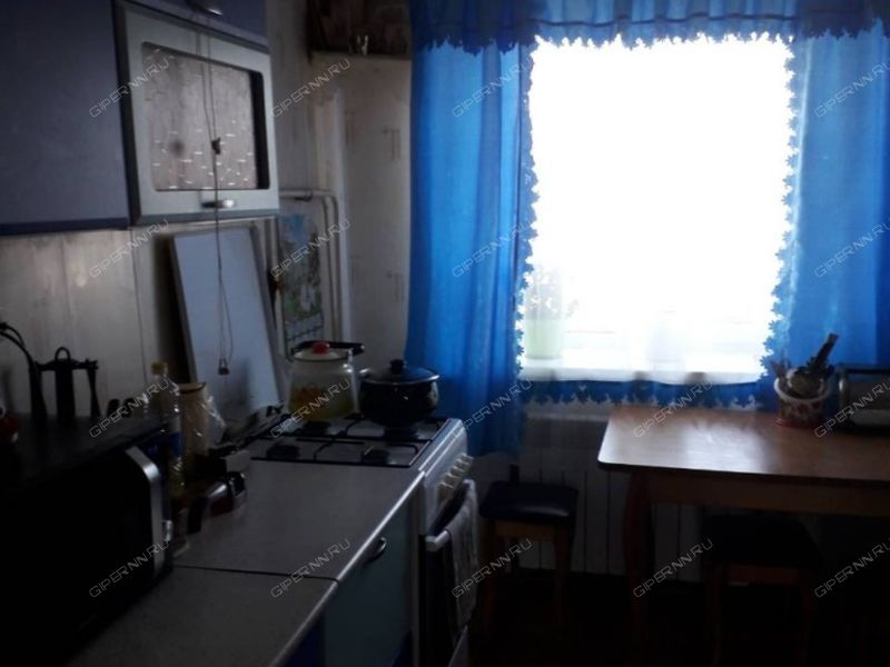 трёхкомнатная квартира на улице Зелёная дом 1 посёлок Нижегородец
