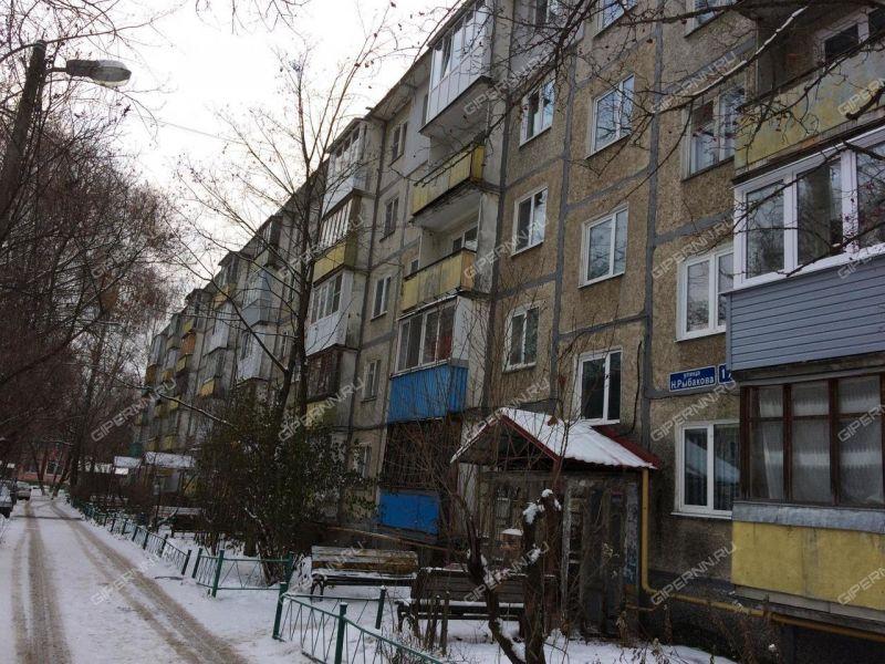 однокомнатная квартира на улице Никиты Рыбакова дом 17