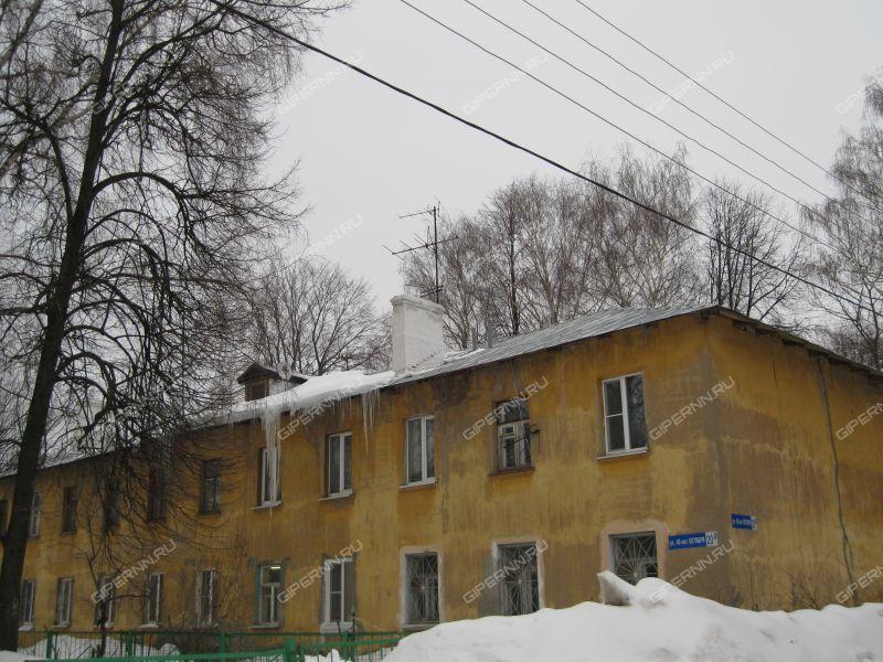 однокомнатная квартира на улице 40 лет Октября дом 20а