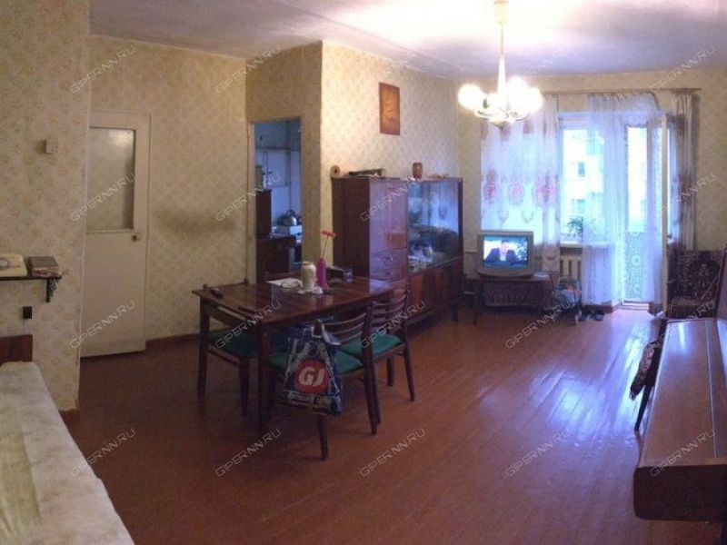 трёхкомнатная квартира на улице Василия Иванова дом 17